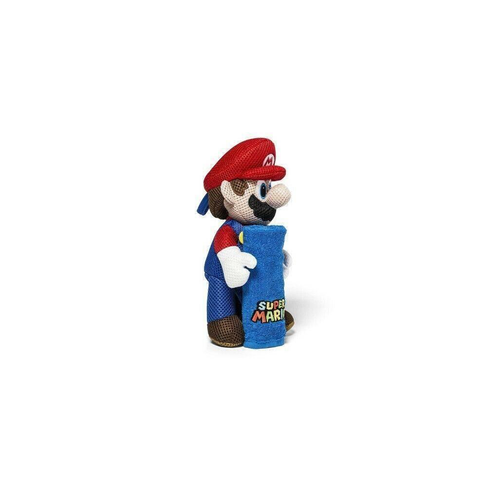 11 34 Super Mario Washcloth And Scrubby