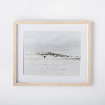 "24"" x 20"" Landscape Framed Wall Art - Threshold™ designed with Studio McGee"