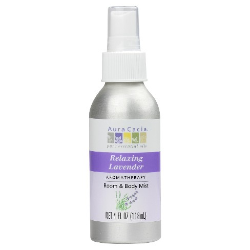 Aura Cacia Relaxing Lavender Aromatherapy Room & Women's Body Mist - 4oz - image 1 of 1