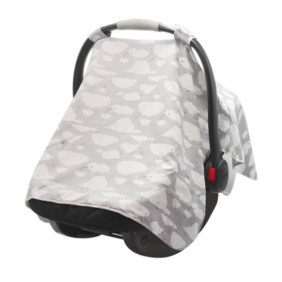 GO By Goldbug Car Seat Canopy Cover Clouds
