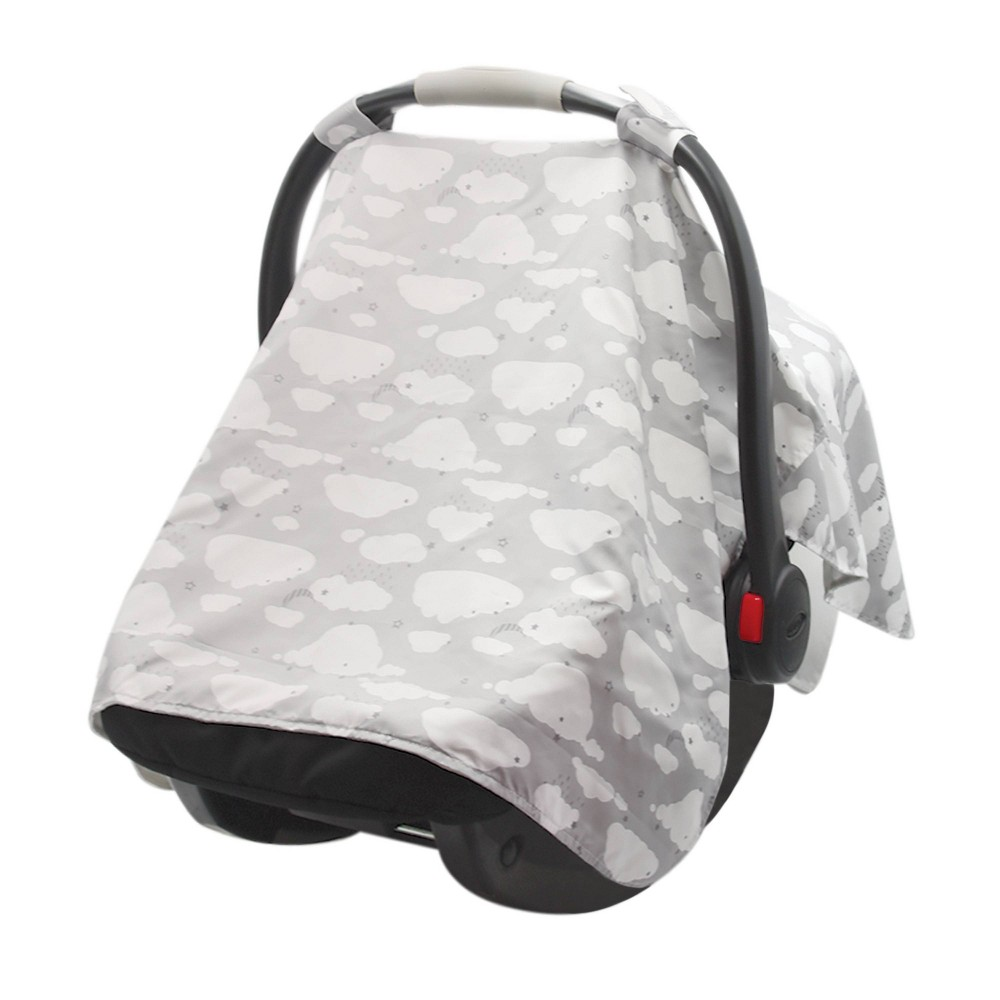Image of Go by Goldbug Canopy Cover Clouds - Gray