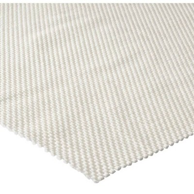 '6'x9'6'' Home Better Stay Rug Pad Ivory - Mohawk, Size: 6'x9'6'', White'