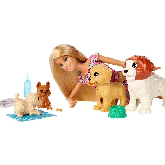 Barbie Doggy Daycare Doll & Pets image number null