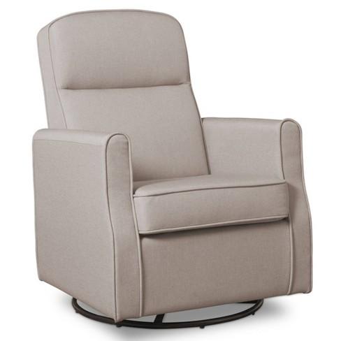 Delta Children Blair Slim Nursery Glider Swivel Rocker Chair - image 1 of 3
