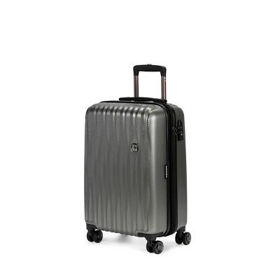 SWISSGEAR 20  Energie USB Port Hardside Carry On Suitcase - Olive