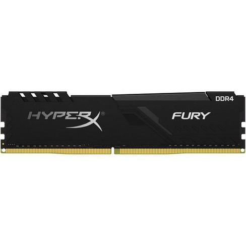 HyperX Fury 16GB DDR4 SDRAM Memory Module - For Desktop PC - 16 GB (1 x 16 GB) - DDR4-3200/PC4-25600 DDR4 SDRAM - CL16 - 1.35 V - Non-ECC - Unbuffered - image 1 of 3