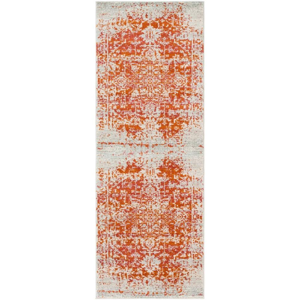 2 39 7 34 X7 39 3 34 Worsham Traditional Rug Orange Artistic Weavers