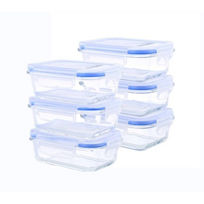 Kinetic Go Green Elements Rectangular Food Storage Container Set - 51oz