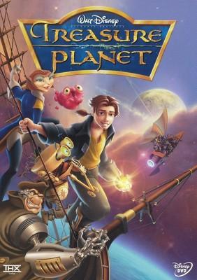 True Disney treasure planet dvd for the
