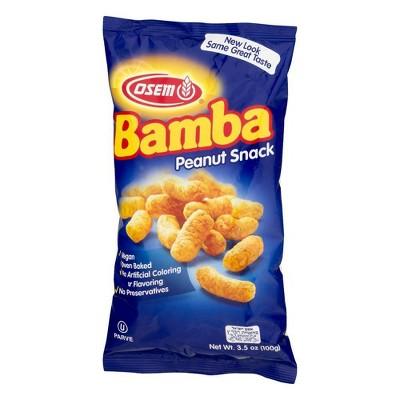 Osem Bamba Peanut Snacks - 3.5oz