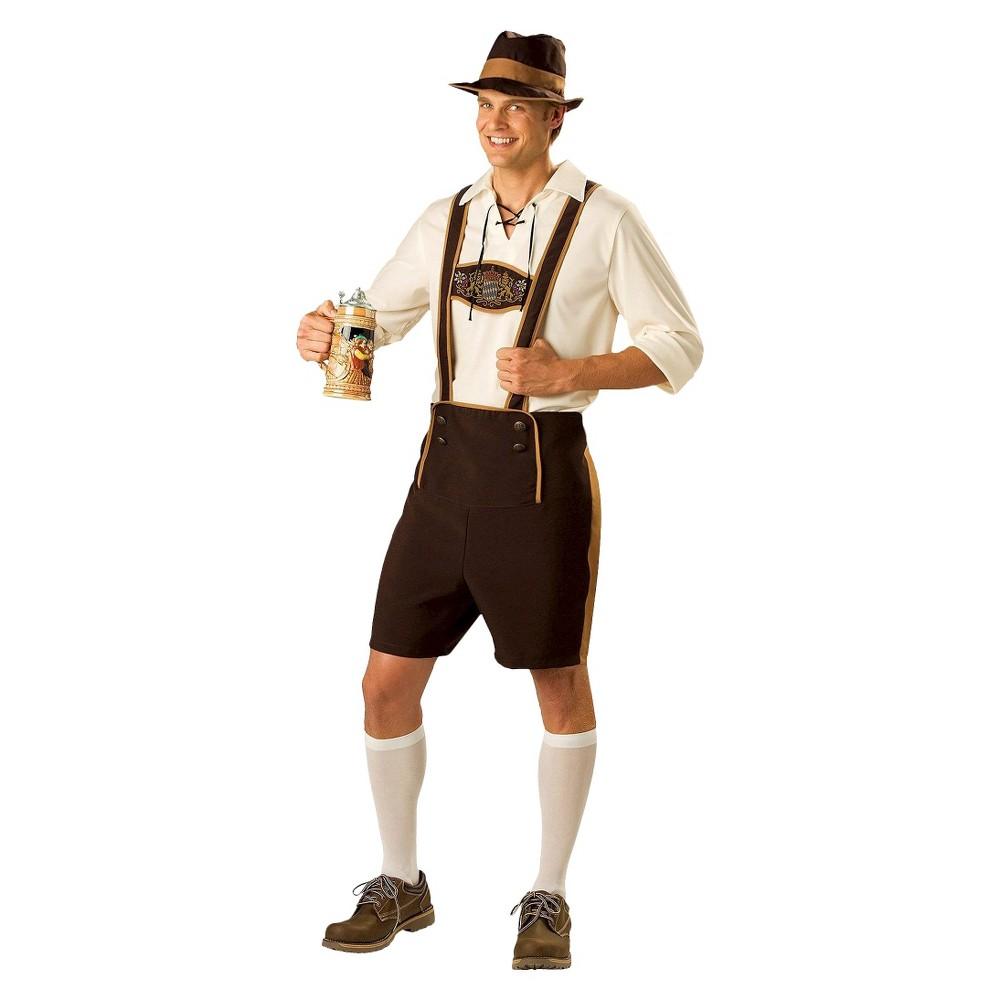 Image of Halloween Men's Bavarian Costume Large