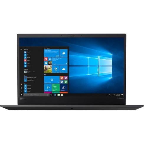"Lenovo ThinkPad X1 Extreme 1st Gen 20MF000JUS 15.6"" Notebook - 1920 x 1080 - Core i7 i7-8750H - 16 GB RAM - 256 GB SSD - Windows 10 Pro 64-bit - image 1 of 4"