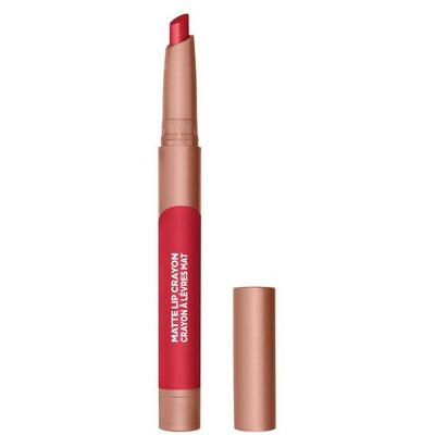 L'Oreal Paris Infallible Matte Lip Crayon Lasting Wear Smudge Resistant - 0.04oz