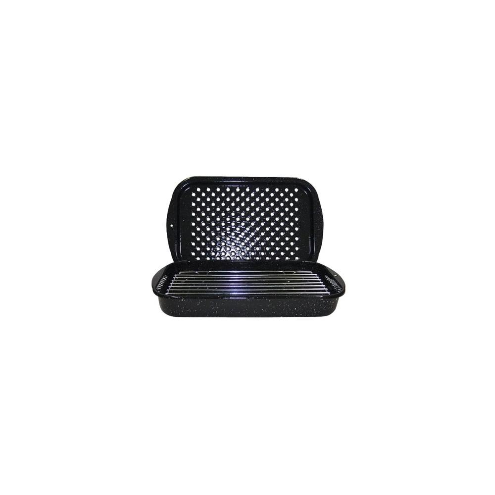 Image of Granite Ware 3pc Bake Broil & Grill Set Black