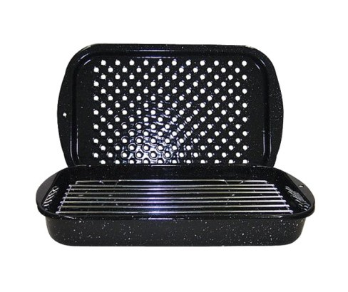 Granite Ware 3pc Bake Broil & Grill Set Black - image 1 of 1