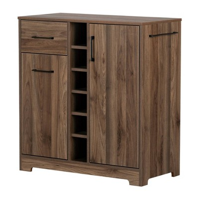 Vietti Bar Cabinet and Bottle Storage - South Shore