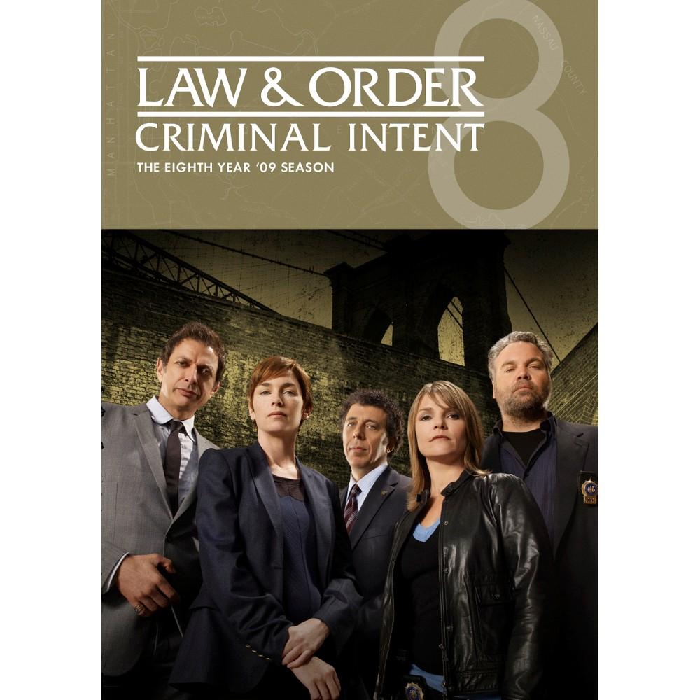 Law & Order Criminal Intent:Season 8 (Dvd)