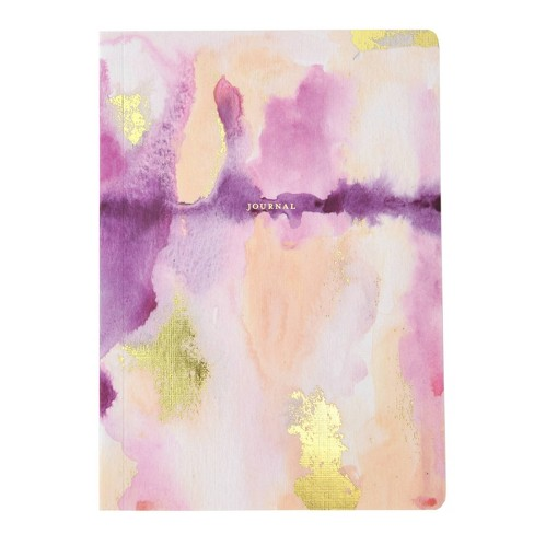 Watercolor College Ruled Composition Notebook Pink/Purple - Mara-Mi - image 1 of 3