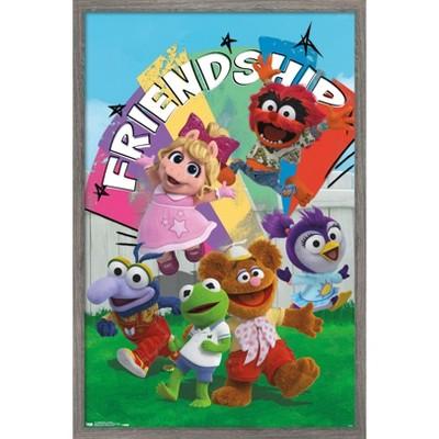 Trends International Disney Muppet Babies - Friendship Framed Wall Poster Prints