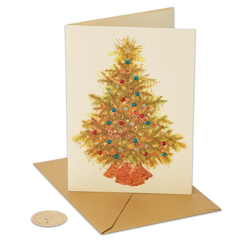 Papyrus Embellished Tree Greeting Card - image 1 of 4