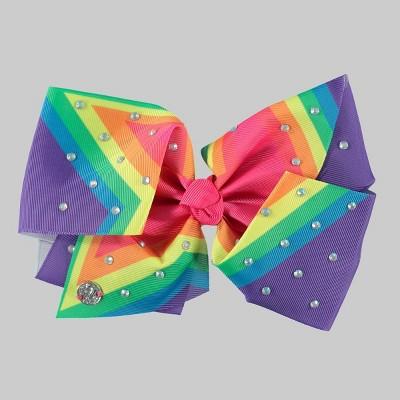 Girls' JoJo Siwa Rainbow Bow Hair Clip