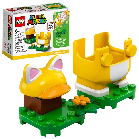 LEGO Super Mario Cat Mario Power-Up Pack Building Kit Collectible Gift Toy for Creative Kids 71372 - image 1 of 4