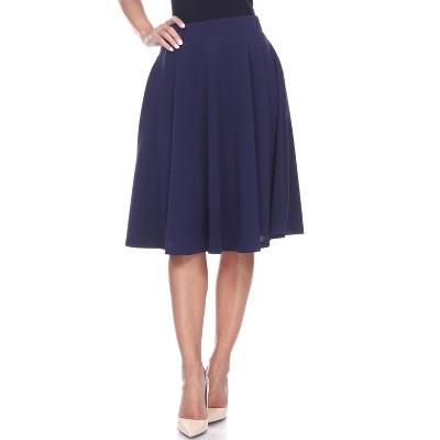 Women's Saya Flare Skirt - White Mark