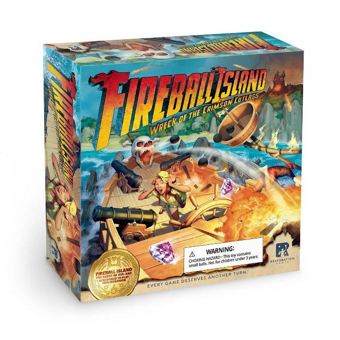 Fireball Island Game: Wreck Of The Crimson Cutlass : Target