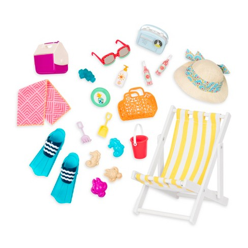 Our Generation Deluxe Beach Set Target
