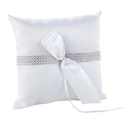 Bling Wedding Collection Ring Bearer Pillow
