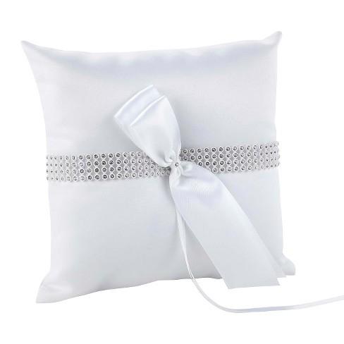 Bling Wedding Collection Ring Bearer Pillow Target