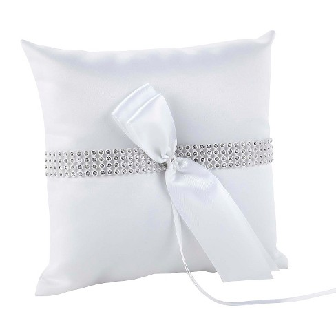 Bling Wedding Collection Ring Bearer Pillow - image 1 of 1