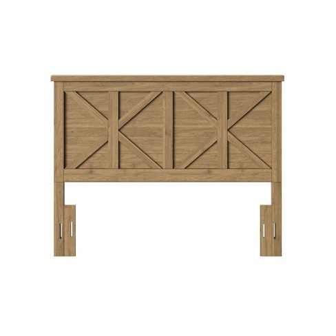 Full/Queen Litchfield Farmhouse Wood Headboard Wheat - Threshold™ - image 1 of 3
