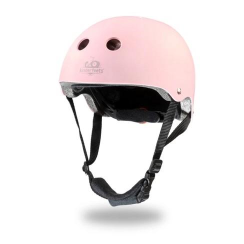 Kinderfeets Pink Adjustable Toddler & Kids Bike Helmet Bundle with Kinderfeets Tiny Tot PLUS 2-in-1 Balance Bike Tricycle - image 1 of 4
