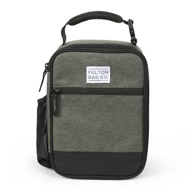 Fulton Bag Co. Upright Lunch Bag - Dusty Olive