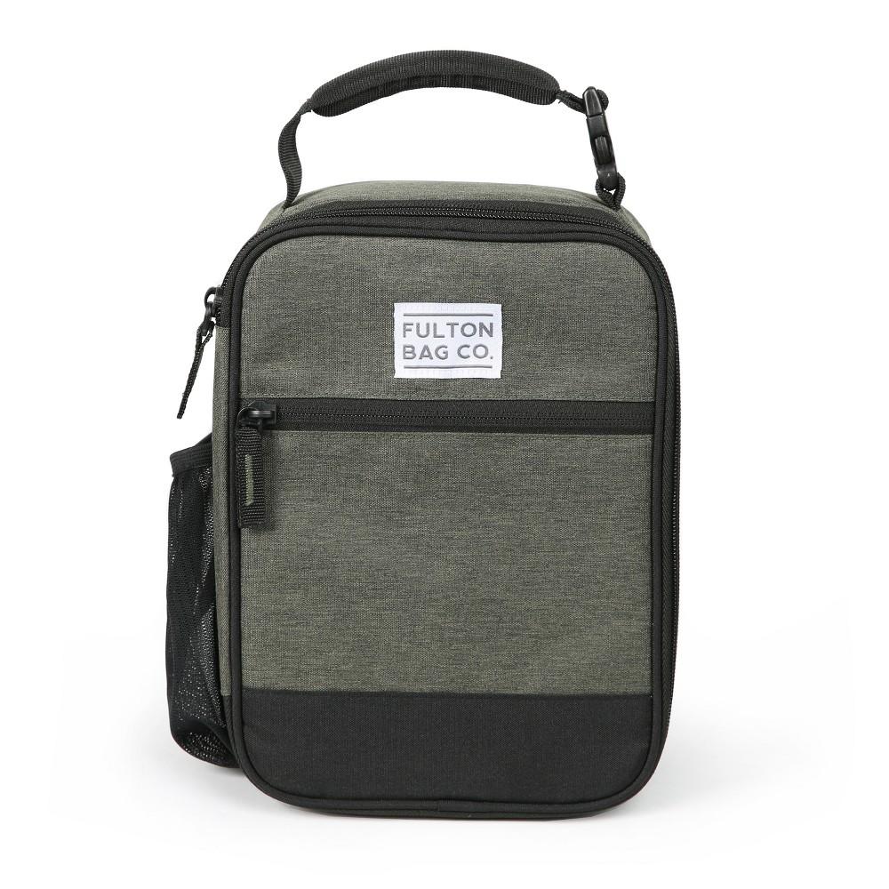 Fulton Bag Co. Upright Lunch Bag - Dusty Olive