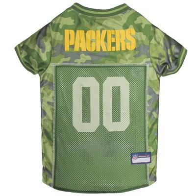 timeless design b4cf1 a009c NFL Pets First Camo Pet Football Jersey - Green Bay Packers