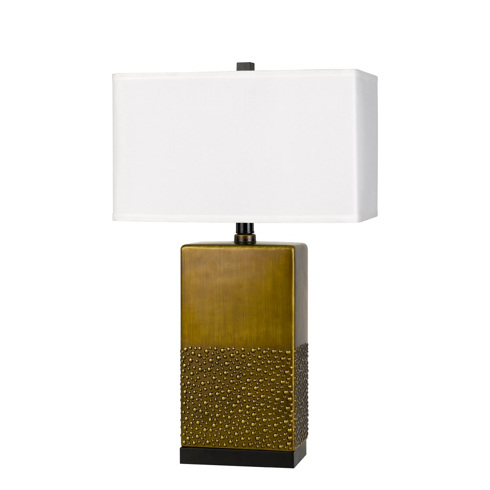 Image of 150W 3 Way Genoa Ceramic Table Lamp (Lamp Only) - Cal Lighting, Multi-Colored