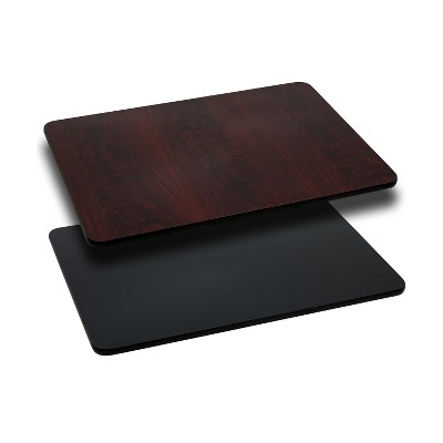 Flash Furniture 30'' x 42'' Rectangular Table Top with Reversible Laminate Top
