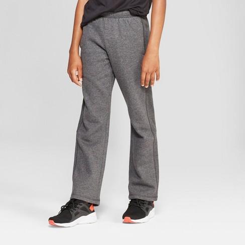 df01fa80 Boys' Cotton Fleece Pants - C9 Champion® Gray Heather M : Target