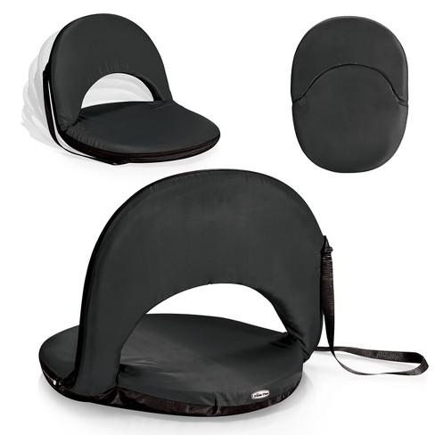 Picnic Time Metro Portable Reclining Seat - Black - image 1 of 4