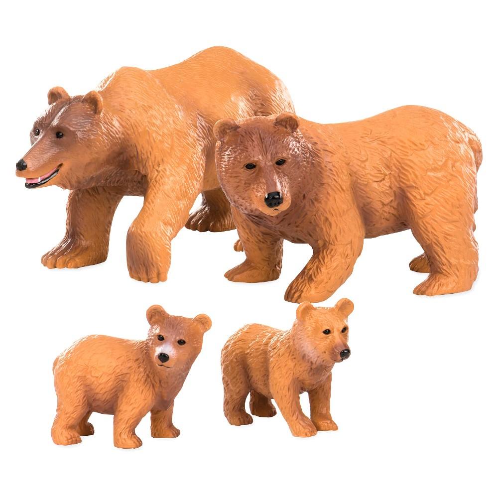 Terra Brown Bear Family Figures