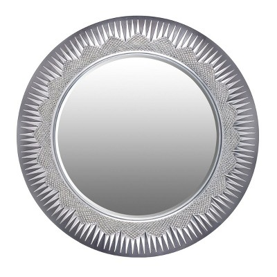 OK Lighting Solar Wall Mirror