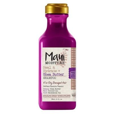Maui Moisture Heal & Hydrate + Shea Butter Shampoo - 13oz