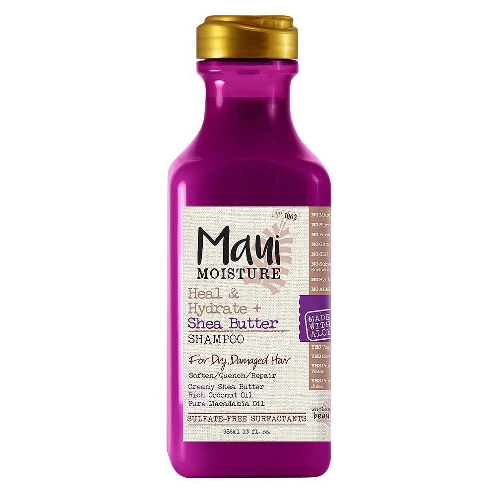 Image of Maui Moisture Heal & Hydrate + Shea Butter for Dry Damaged Hair Shampoo - 13 fl oz