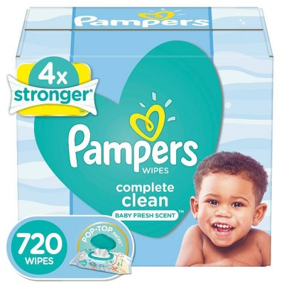 Pampers Wipes Complete Clean (720ct)
