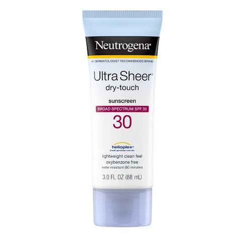 Neutrogena Ultra Sheer Dry Touch Sunscreen Lotion - SPF 30 - 3 fl oz - image 1 of 4