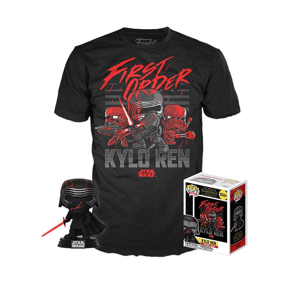 Image of Funko POP! Star Wars Collectors Box: Kylo Ren (Supreme Leader) POP! & Tee - XL (Target Exclusive)