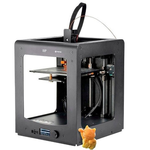 Monoprice Maker Ultimate 3D Printer With Large Heated (200 x 200 x 175mm ) Build Plate, MK11 DirectDrive Extruder + Free Sample PLA Filament & 4GB - image 1 of 4