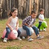 Farm Hoppers Inflatable Bouncing Grey Rabbit - image 3 of 3